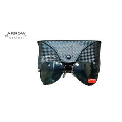 Arrow Black Sunglasses, Packaging Type: Box