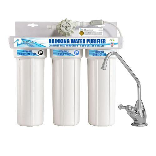 Pelican Under Sink Water Purifier Capacity 7 1 L To 14l Rs 5500