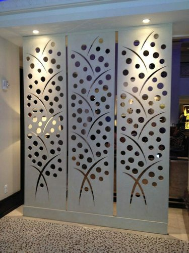 M.S Wall Partition For Home, Rs 230 /foot, Precision