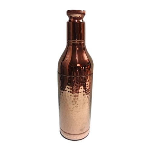 K.G.B. Plain 1250ml Jointless Copper Bottle