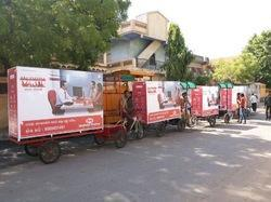 Tricycle Advertising, in Pan India, Size: 9 X5