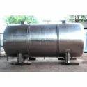 Horizontal Stainless Steel Tank
