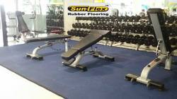 Interlocking Gym Rubber Tile
