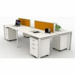 Desking 4 Seater Workstation