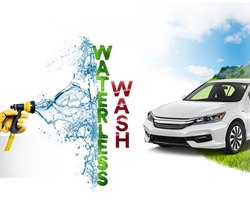 Monthly Waterless Car Wash Cleaning, Service Centre