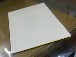 Yellow sticky inside pad