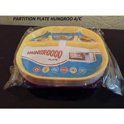 Hungroo Plastic Partition Plate