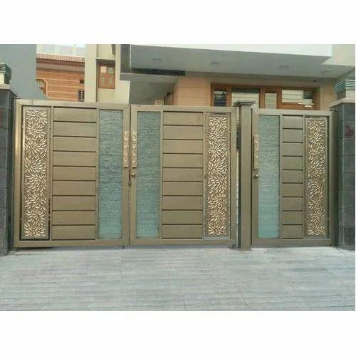 Three Door Designer Iron Gate