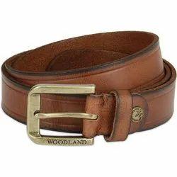 Woodland BT 1053041 Tan Men's Leather Belt