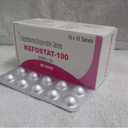 Cefpodoxime Dispersible 100mg Tablets