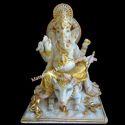 4 Feet  Marble Ganesh Statue