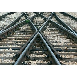 Maganese Steel Fabricated Railway Crossing