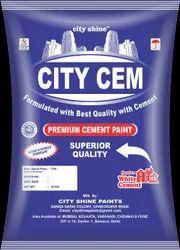 City Cem Snowcem Cement Paint, Packaging Size: 20 Kg