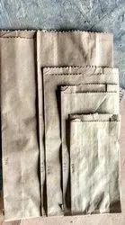 Plain Grocery Brown Paper Bag