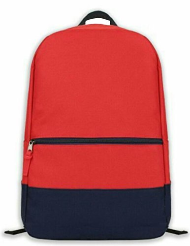 Black and Red Boys School Bag