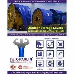 Outdoor Stand Cover X-Paulin Cross Laminated Tarpaulin