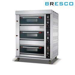 Bresco Gas Bakery Oven 3 Deck 6 Tray