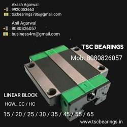HGW45 Linear Guide Block HIWIN Design