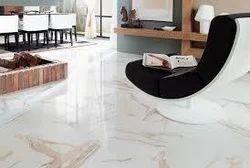 Living Room Vitrified Tiles