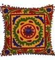 Suzani Embroidered Cushion Cover