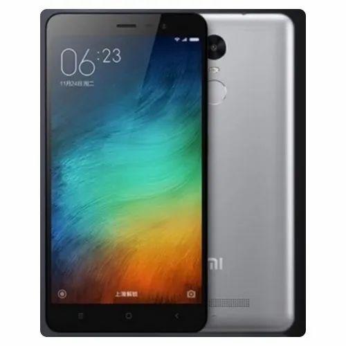 Android Grey Xiaomi Mi Note 3 16GB, Model: Redmi Note 3   ID