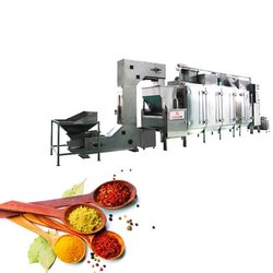 Spices Continuous Roasting Machines
