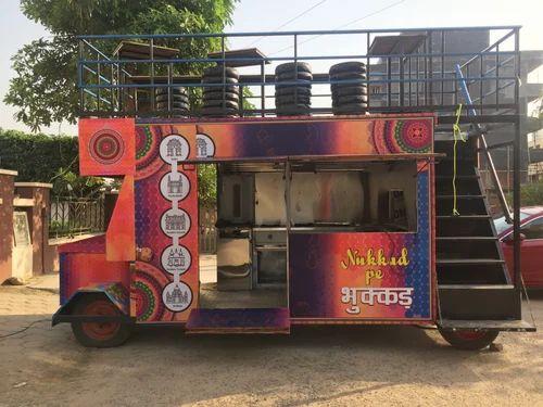 Food Trucks Double Decker Food Truck Manufacturer From