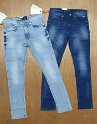 Faded Regular Fit Basic Jeans