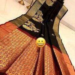 Pure Banglori Raw Silk Saree