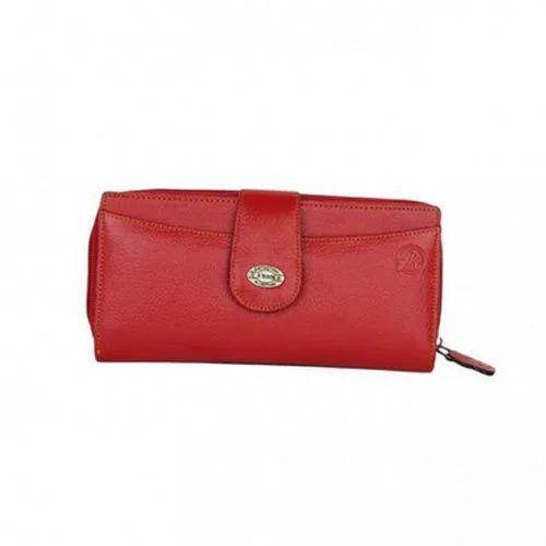 Women Red Wallet Loop b5096aebd0180