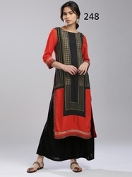 Long Printed Best Kurti