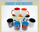 Sublimation Inner And Handle Color Mugs