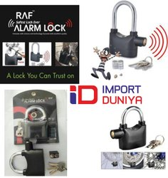 RAF Home Security Alarm Lock, Powder Coated