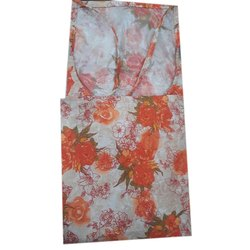 Orange Cotton Kitchen Women Apron, Packaging Type: Packets