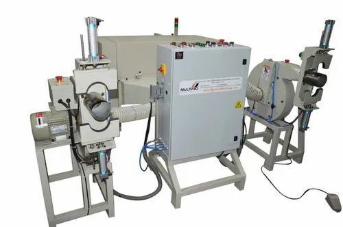 Automatic Fiber Filling Machine With Two Stations And Clamping System
