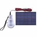 3.7 W Solar Led Bulb, Voltage: 12 V