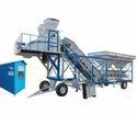 VKC25 4Bin Mobile Concrete Batching Plant