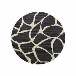 Brown & Beige Kanha Overseas Hand Tufted Woolen Carpet