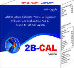 Calcitriol Calcium Carbonate Vitamin D3 Magnesium Hydroxide Zinc Sulphate folic Acid and Vitamin B6