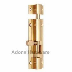4 Inch Heavy Duty Brass Barrel Bolt