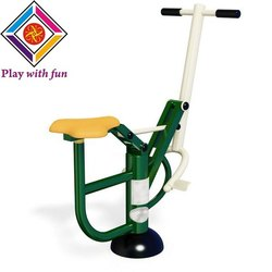galvanised iron OUTDOOR GYM HORSE RIDER, Model Name/Number: NPS-OAG-02