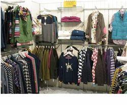 Wall Panel Garments Display