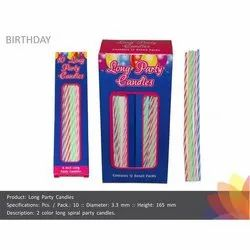 Long Party Candles