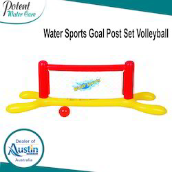 Water Volleyball Goal Post Set