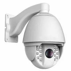 PTZ Dome CCTV Camera, Camera Range: Upto 100-150 Mtr