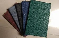 Multicolor Rubber Tiles, For Gym Flooring,Sports Flooring