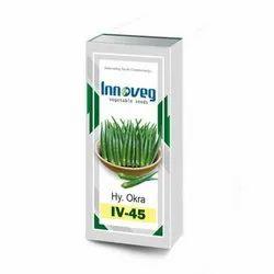 IV-45 F1 Hybrid Okra Seeds