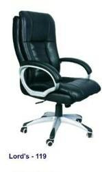 Lord's Black Executive Chair