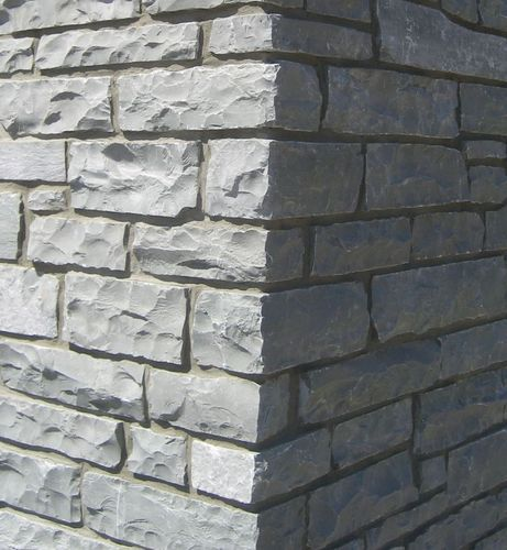 Black Ledge Cultured Stone For Wall Tiles