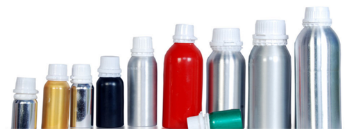 Aluminium Bottles Without Inner Plug (Leak-Proof) With Self-Seal